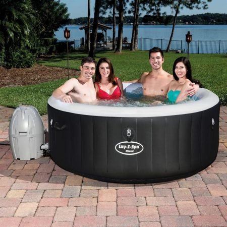 Bestway Bubbelbad Lay-Z-Spa opblaasbaar Miami Air Jet